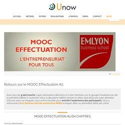 Retours sur le MOOC Effectuation #2 - Unow - MOOC conception