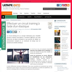 Effectuer un circuit training à l'aide d'un élastique