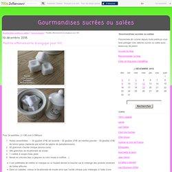 Pastille effervescente écologique pour WC - Gourmandises sucrées ou salées