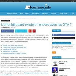 L'effet billboard existe-t-il encore avec les OTA ?