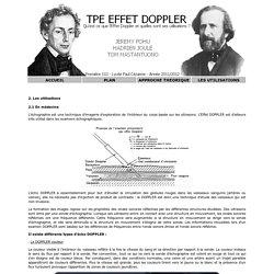 Effet DOPPLER - TPE 2012