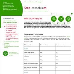 Les effets psychiques - Stop-Cannabis.ch