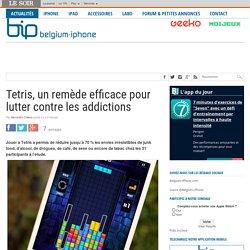 Tetris, un remède efficace pour lutter contre les addictions
