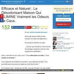 Efficace et Naturel : Le Désodorisant Maison Qui ÉLIMINE Vraiment les Odeurs de Caca.