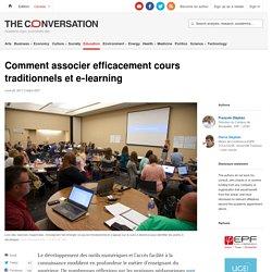 Comment associer efficacement cours traditionnels et e‑learning