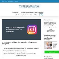 Pellerin : Formation Community Manager & Réseaux Sociaux - Paris