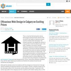 Well-designed Websites for Productive Internet Marketing