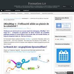 iMindMap 7 : l'efficacité alliée au plaisir de la créativité !