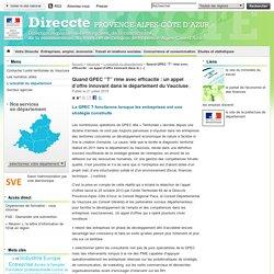 Quand GPEC ''T'' rime avec efficacité: un appel d'offre innovant dans le département du Vaucluse