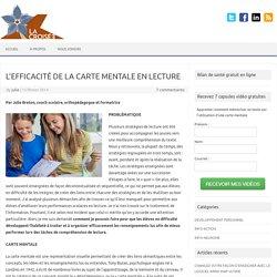 L'EFFICACITÉ DE LA CARTE MENTALE EN LECTURE