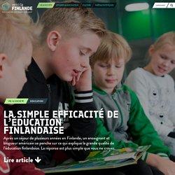 La simple efficacité de l'éducation finlandaise - voicilaFINLANDE