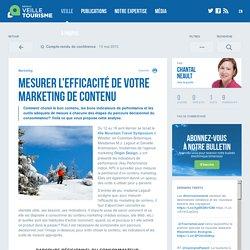 Mesurer l'efficacité de votre marketing de contenu - Réseau de veille en tourisme