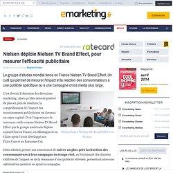 Nielsen déploie Nielsen TV Brand Effect, pour mesurer l'efficacité publicitaire