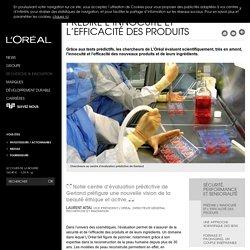 Prédire l'innocuité et l'efficacité des produits, peau reconstruite