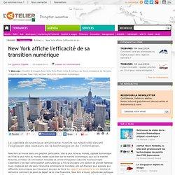New York affiche l'efficacité de sa transition numérique