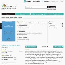 Efficience et économie d'échelle. Une étude sur l'édition de revues en libre accès