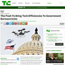 The Push To Bring Tech Efficiencies To Government Bureaucracies