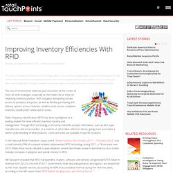 Improving Inventory Efficiencies With RFID