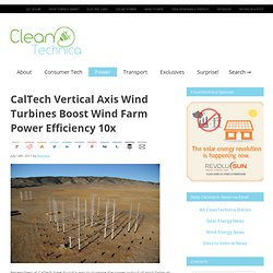 Wind Turbines (Caltech)