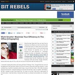 Travailler plus intelligemment: Maximisez votre efficacité dans les ...