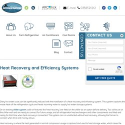 Heat Recovery and Efficiency Systems