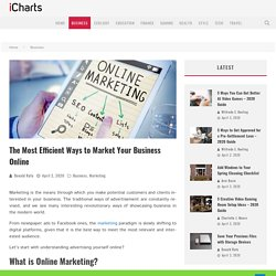 The Most Efficient Ways to Market Your Business Online