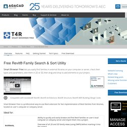 Revit Add-on Smart Browser Free for Family Search & Efficient Navigation