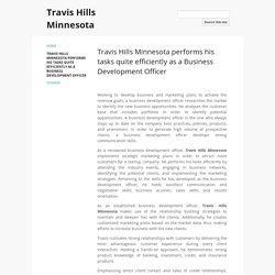 Travis Hills Minnesota