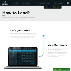 How to Lend Efficiently, Lending is Easy With LenDenClub