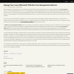 Article - Manage Your Cases Efficiently With Best Case Management Software