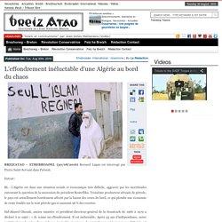 L'effondrement inéluctable d'une Algérie au bord du chaos