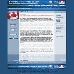 07/03> BE Canada407> Une étude prédit un effondrement planétaire irréversible imminent
