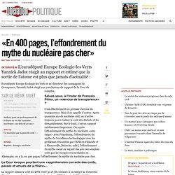 «En 400 pages, l'effondrement du mythe du nucléaire pas cher»
