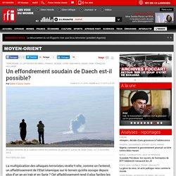 Un effondrement soudain de Daech est-il possible? - Moyen-Orient