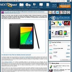 Les parts de marché de l'iPad s'effondrent, Android écrase la concurrence - PC INpact