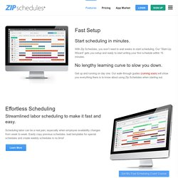 Effortless Employee Scheduling and Communication