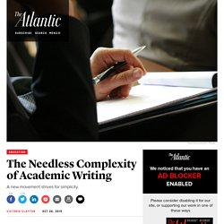 The Ig Nobel Prize and Other Efforts to Eradicate Complex Academic Writing