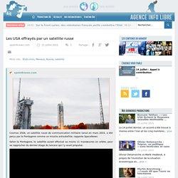 Les USA effrayés par un satellite russe