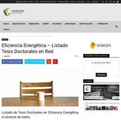 Buscador de Tesis Doctorales españolas