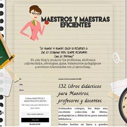 132 libros didácticos para maestros, profesores y docentes.