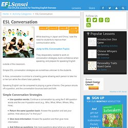 ESL Conversation