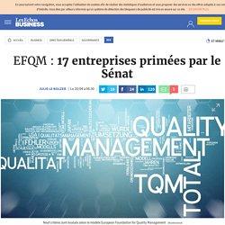 EFQM : 17 entreprises primées par le Sénat, RSE