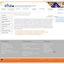 EFSA 20/12/13 Bien-être des animaux dans les abattoirs