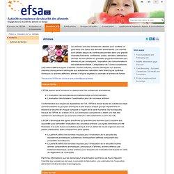 EFSA Dossier: Arômes