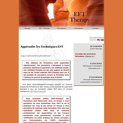 EFT-Formations