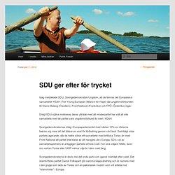 SDU ger efter för trycket
