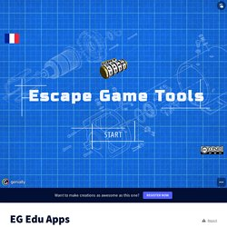 EG Edu Apps by charlierollo on Genially