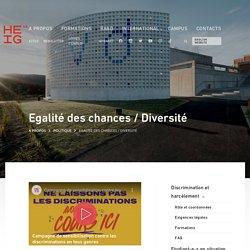 Egalité des chances / Diversité - HEIG-VD