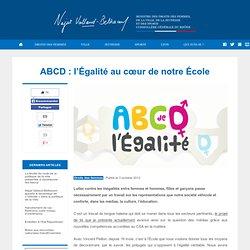 ABCD : l'Égalité au cœur de notre l'École