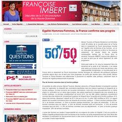 Egalité Hommes-Femmes, la France confirme ses progrès